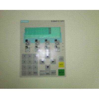 Siemens Touch Screen , Membrane Switch , Keypad  6AV3 637-7ab16-0AG1  OEM Op37