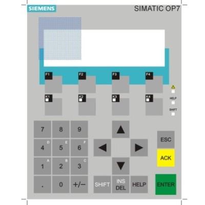 Siemens Touch Screen , Membrane Switch , Keypad  6AV3637-1ml00-0bx0   Op37