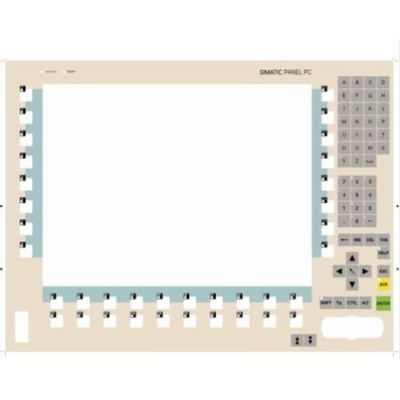 Siemens Touch Screen , Membrane Switch , Keypad  6AV6542-0ae15-2ax0   MP270-10