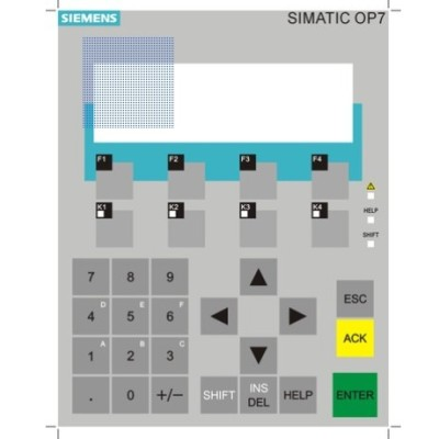 Siemens Touch Screen , Membrane Switch , Keypad  6AV3627-1JK00-1AX0