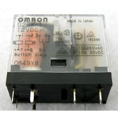 OMRON PARTS   G2RK-1 12VDC , G6B-4BND ,  G3PA-220B-VD