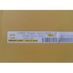 FANUC   A02B-0285-B502, A03B-0815-C004 , A06B-6058-H221