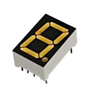 Sell   1 digit 0.43 inch low brightness red 625nm 7 segment display led 7 seg pcb assembly