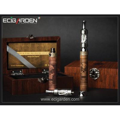 E-Fire 1100mAh Wooden VV Ecig Kit