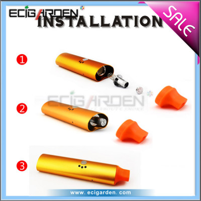 Ecigarden 2014 new dry herb ecig PEX pen