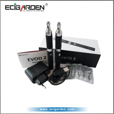 1.6ml pyrex&stainless steel EVOD2 clearomizer