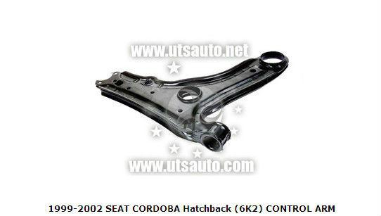 1999-2002 seat cordoba hatchback( 6k2) braccio di controllo 191407153a oem