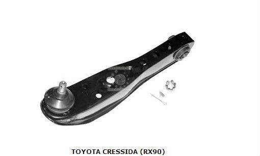 Toyota crésida( rx90) brazos de control 4806929115 oem
