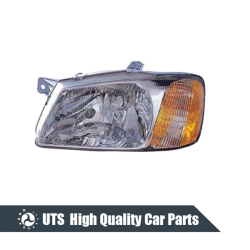 HEAD LAMP FOR ACCENT 00-01,YELLOW LENS,INDIA TYPE