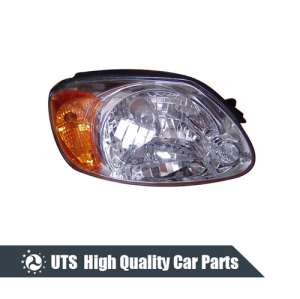HEAD LAMP FOR ACCENT 03-05,YELLOW LENS