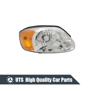 HEAD LAMP FOR ACCENT 03-05,ELECTRIC,YELLOW LENS