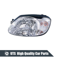 HEAD LAMP FOR ACCENT 03-05,WHITE LENS