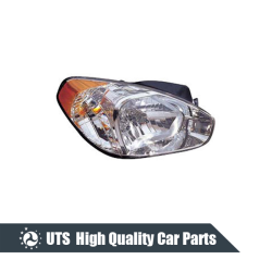 HEAD LAMP FOR ACCENT 06,ELECTRIC,YELLOW LENS