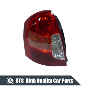 TAIL LAMP FOR ACCENT 06,WHITE AND RED