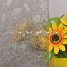 3d 2013 quente vender janela decorativa vidro eletrostática filme