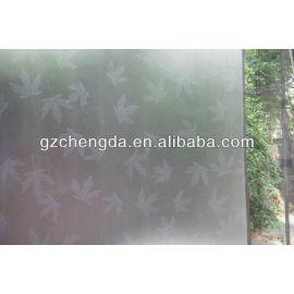 cor de vidro de impressão filme de pvc