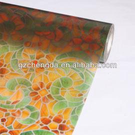 2013 quente vender 3k cor de vidro de impressão filme de pvc