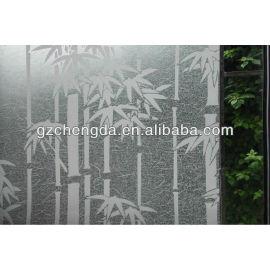 2013 venda quente pvc cor vidro filme de impressão