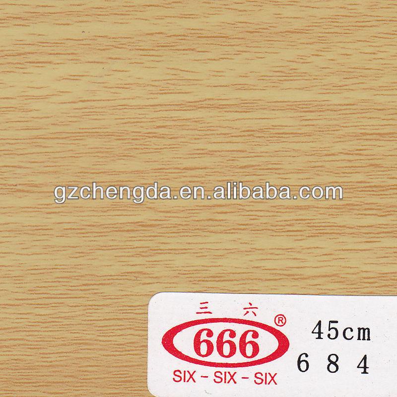 2013 quente vender bem madeira granulação de filme