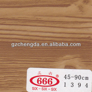 grão de madeira filme de pvc