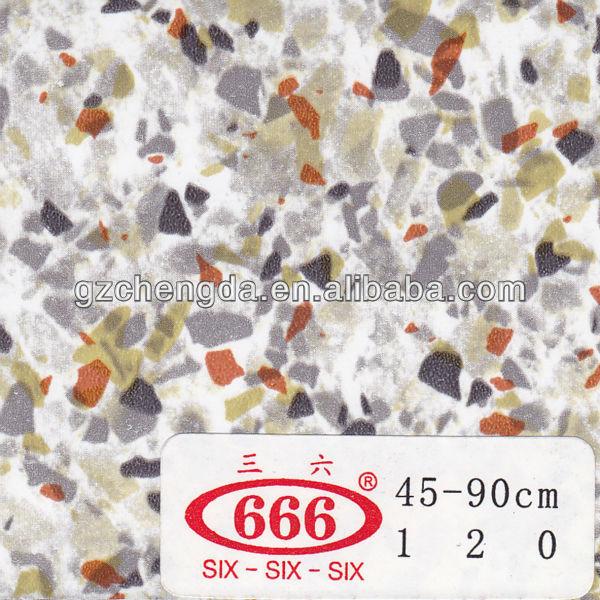 2013 quente vender bem pedra grão de filme de pvc decorativo para