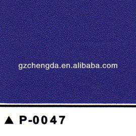 2013 quente vender bem azul pvc película de vidro