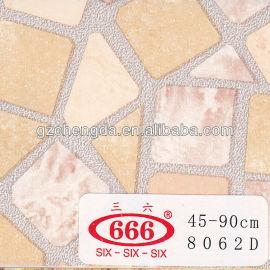 Auto- adesivo decoração pvc film para vidro