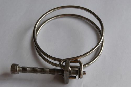 Double wire hose clamp wanda