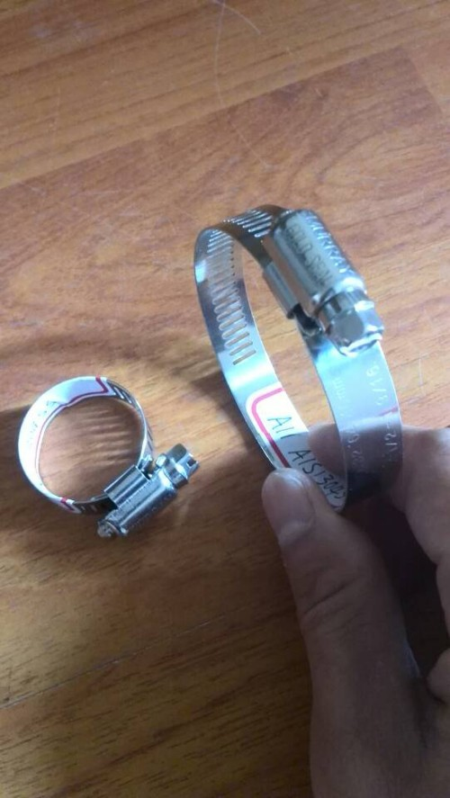 Stainless Steel Standard Worm Drive Hose Clamps
