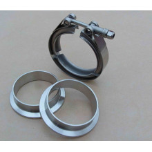 AISI 304 Stainless Steel V-Band Clamps & Flanges