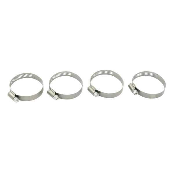 All 300 SS Worm Drive Clamps,1/2