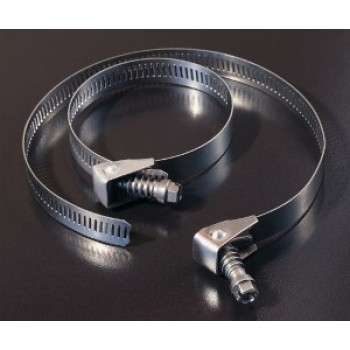 Stainless Steel Swivel Action Worm Drive Clamps