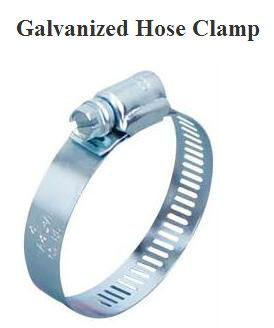 Galvanized Hose Clamps
