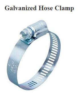 Galvanized Hose Clamps