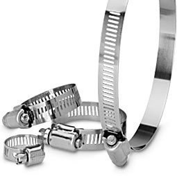 Worm Drive Clamps  for Ducting Vents Accesorries