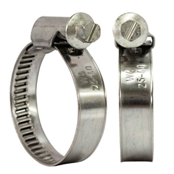 Solid Band Hose Clamps
