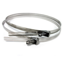 stainless steel pipe attachment bands for heat tracing cables
