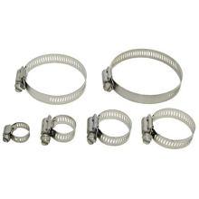 4 piece Quadra Lock worm drive clamps