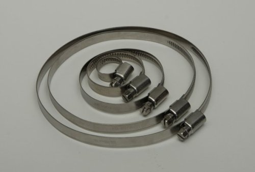 9mm band Germany Type stainless steel pipe clips