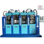Máquina de pressão directa móvel(quatro estações e dois tiros)