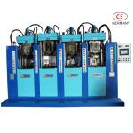 ماكينة الصباغة المتنقلة بأحادية اللون بالضغط المباشر ( ذات أربع محطات و بندقيتين )