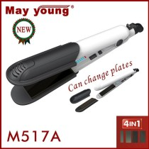 4 in 1 hair straightener and curling iron