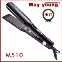 professional snake LCD ceramic hair straightner style elements flat iron