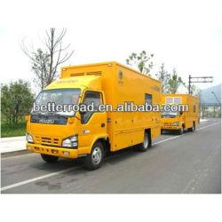 isuzu شاحنة إمدادات قوة الطوارئ المتنقلة