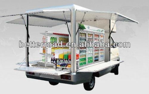 حار بيع، محافظ جودة الغذاء سيارة في الهواء الطلق