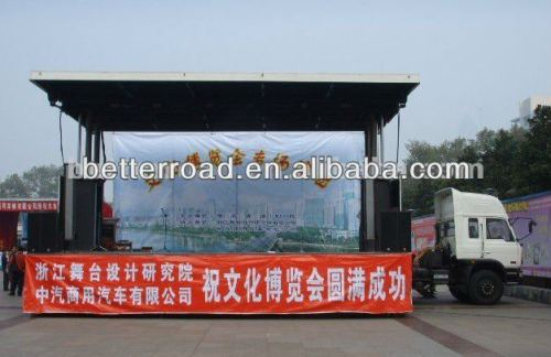 طول المرحلة 5m الساحة المحمول شاحنة