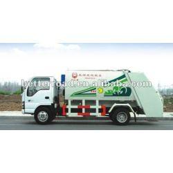 3t شاحنة القمامة الضاغطة