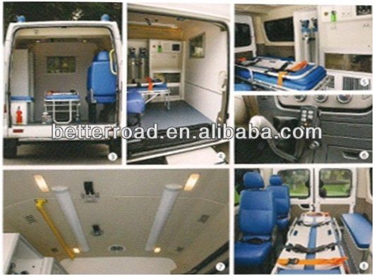 الديزل المتقدمة الكمبيوترنقل إسعافغير 4x 4, الصين model