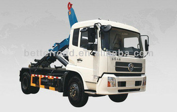 المتقدمة 6x4 شاحنة القمامة الذراع لفة، نموذج جديد