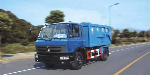 دونغفنغ حاوية شاحنة جمع النفايات